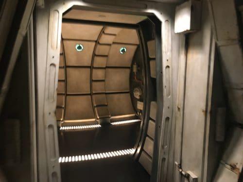 inside Millenium falcon