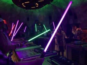 star wars land light saber