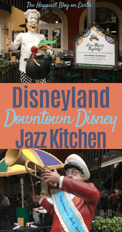 Jazz Kitchen Disneyland