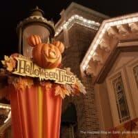 Halloween Time at Disneyland Resort 2020