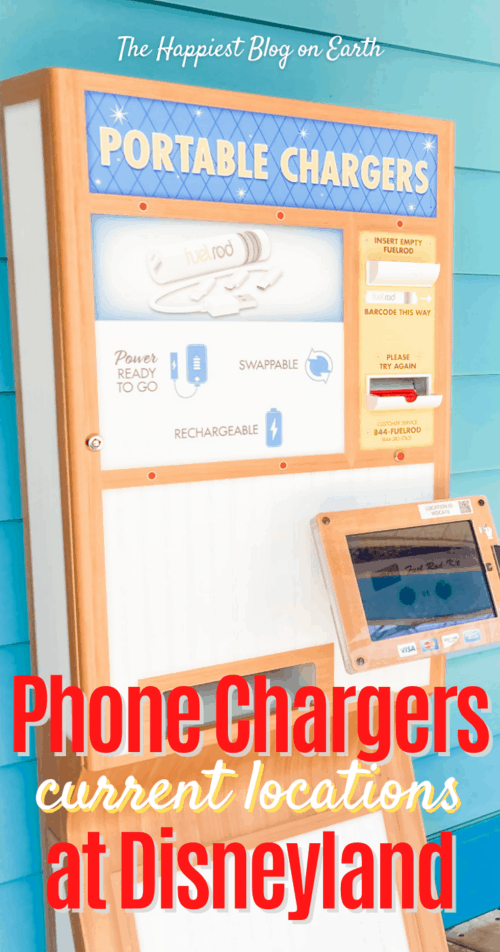 Disneyland Phone Chargers Fuel Rod location