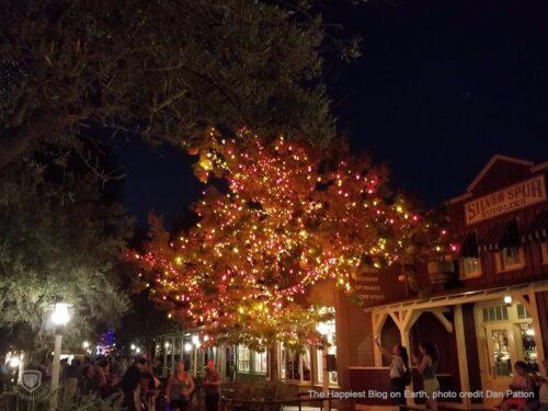 Halloween Tree Disneyland