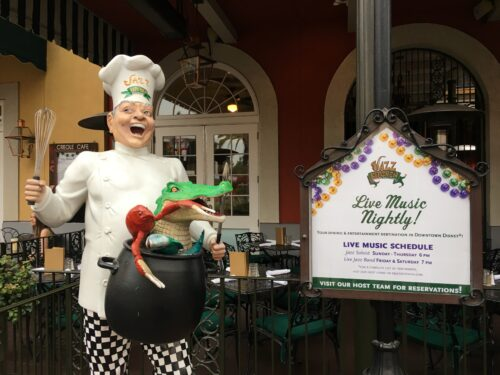 Jazz Kitchen review downtown Disney