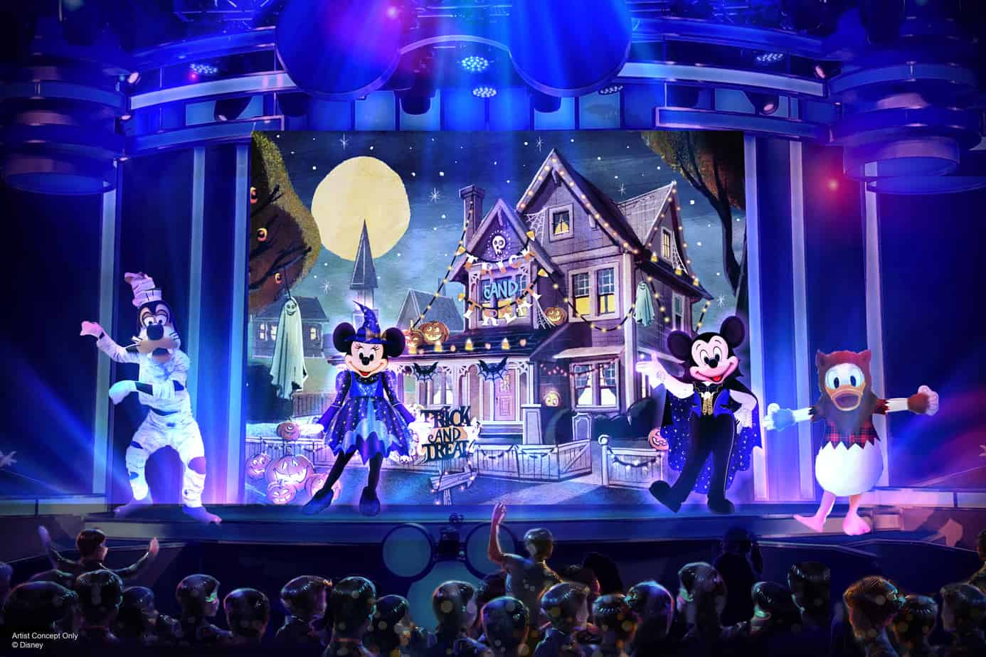 Mickeys Trick and Treat Show