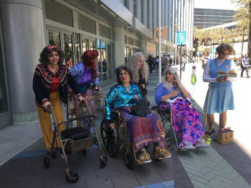 Disney Princess grandmas