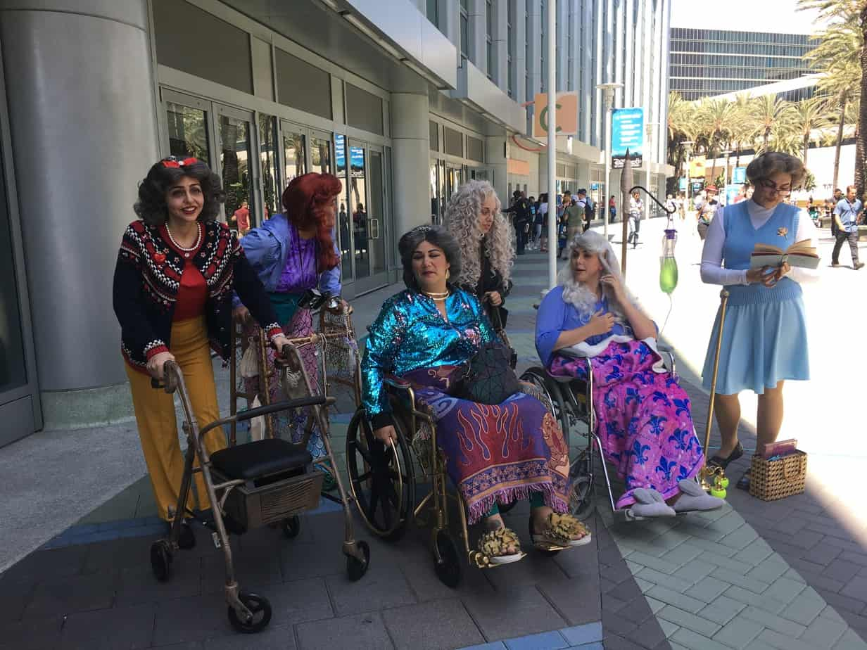 Disney Princess grandmas