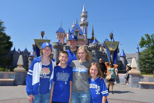 Disneyland Dodger Family