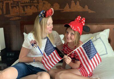 4th of July at Disneyland and at Home