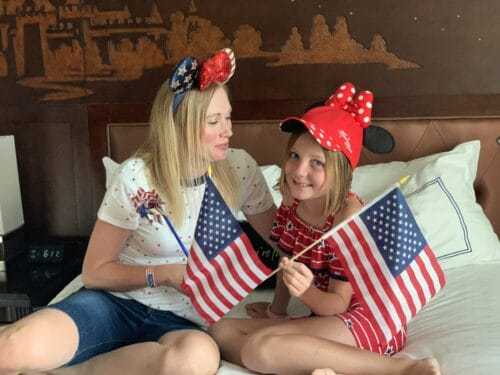 Disneyland Fourth of July