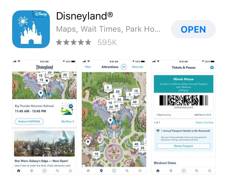 Disneyland app download