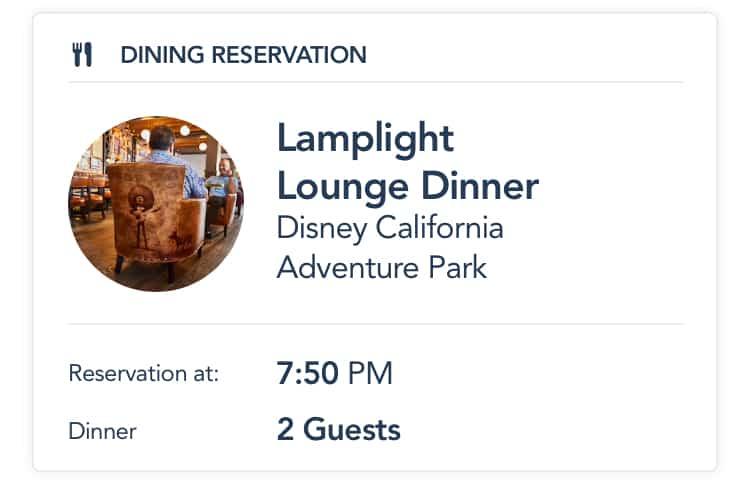 Disneyland app food order