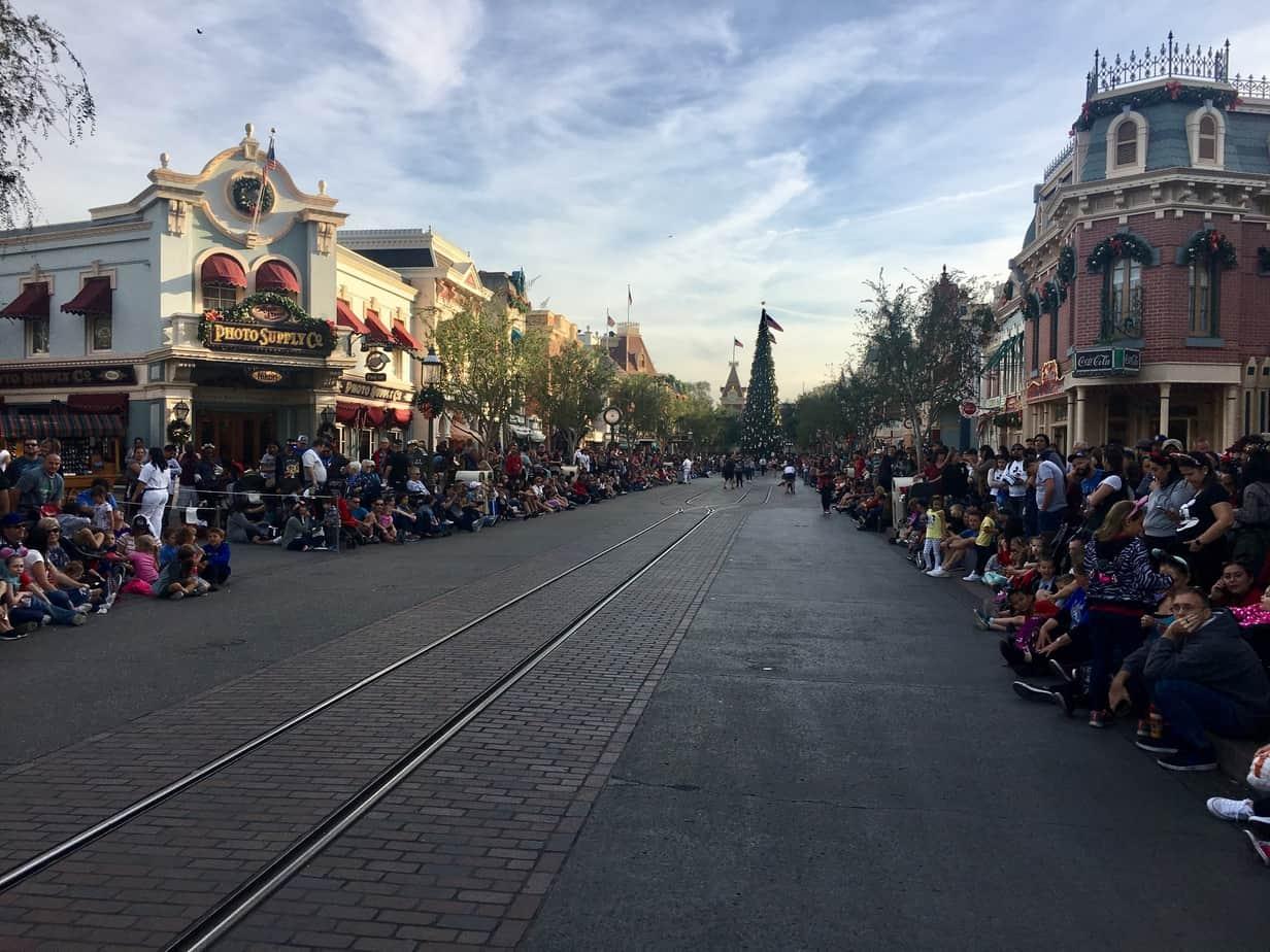 Disneyland parade spots