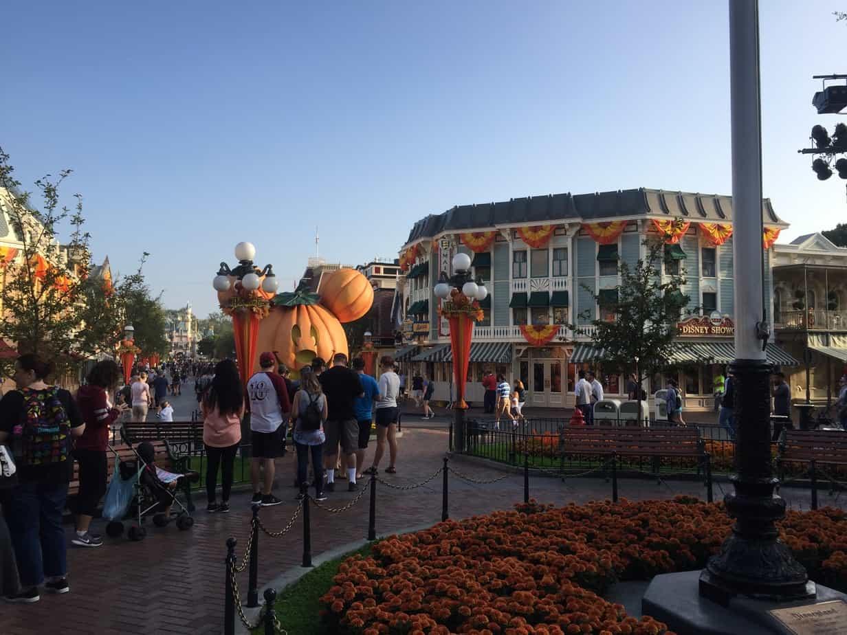Mickey jack o lantern Disneyland