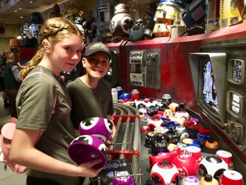 Teens build droid