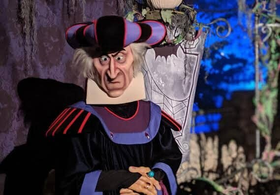 Monseigneur Claude Frollo Hunchback