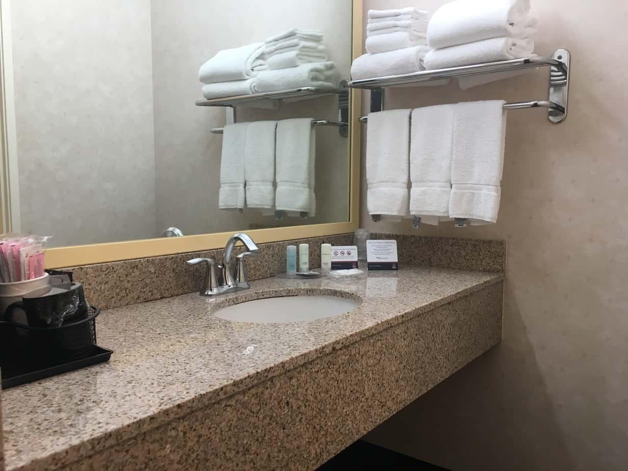 Clarion vanity bathroom