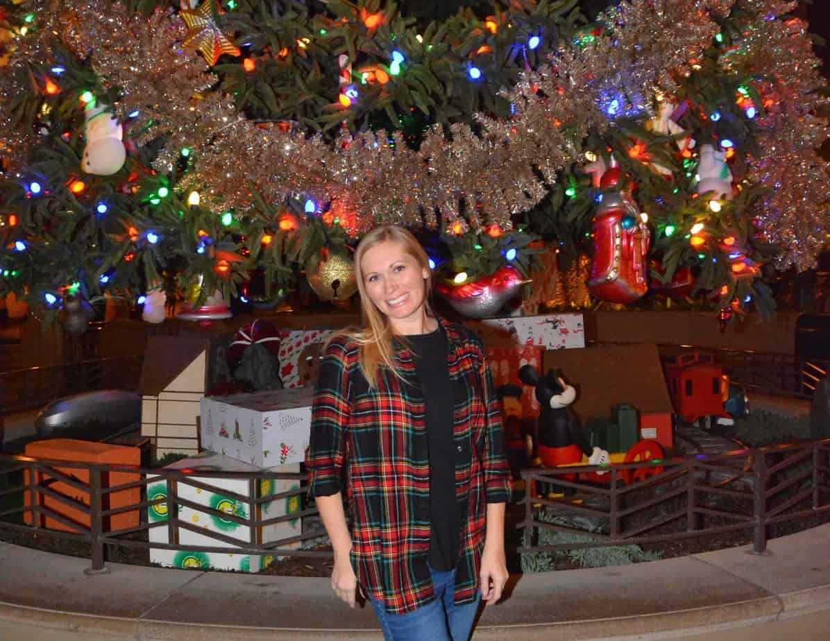 DCA Christmas tree Jessica