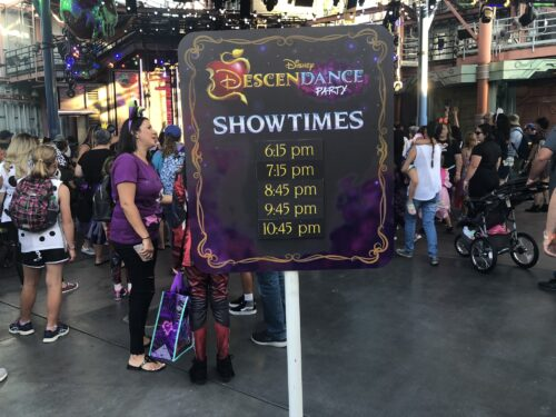 DescenDance Party times