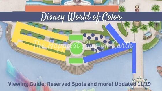 Best Spots for Disney World of Color