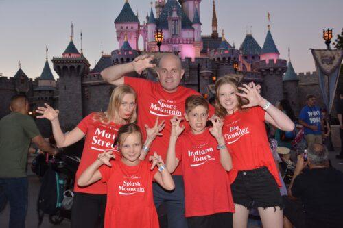 Disneyland Halloween Time family