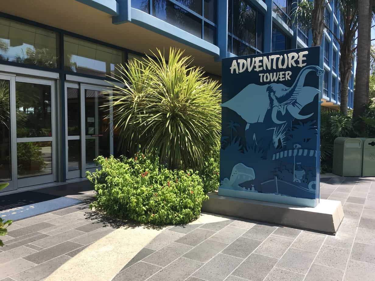 Disneyland Hotel Adventure Tower