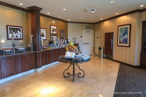 Disneyland Hotel Club room