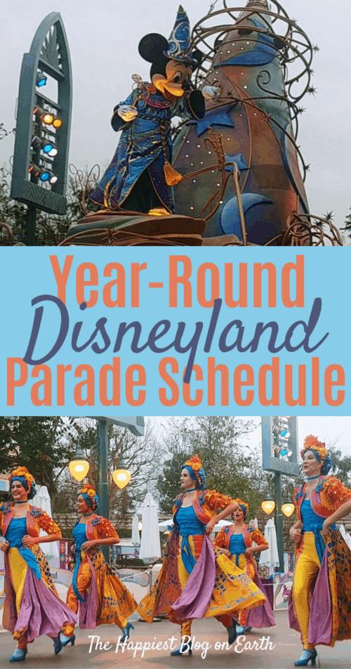 Disneyland Parades