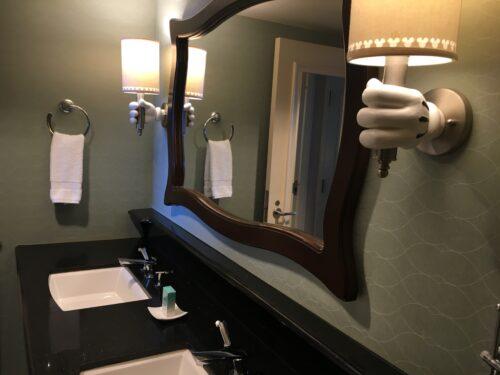 Disneyland hotel vanity