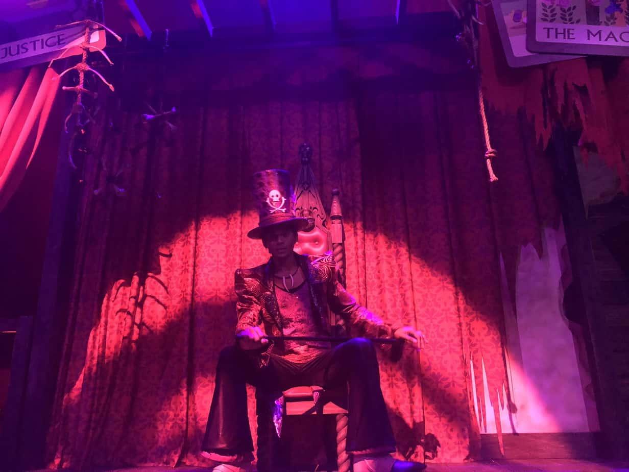 Dr. Facilier shadow man