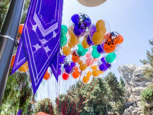 Halloween Time balloons