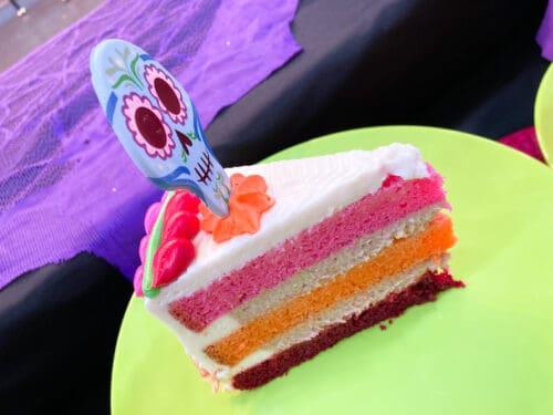 Halloween coco cake