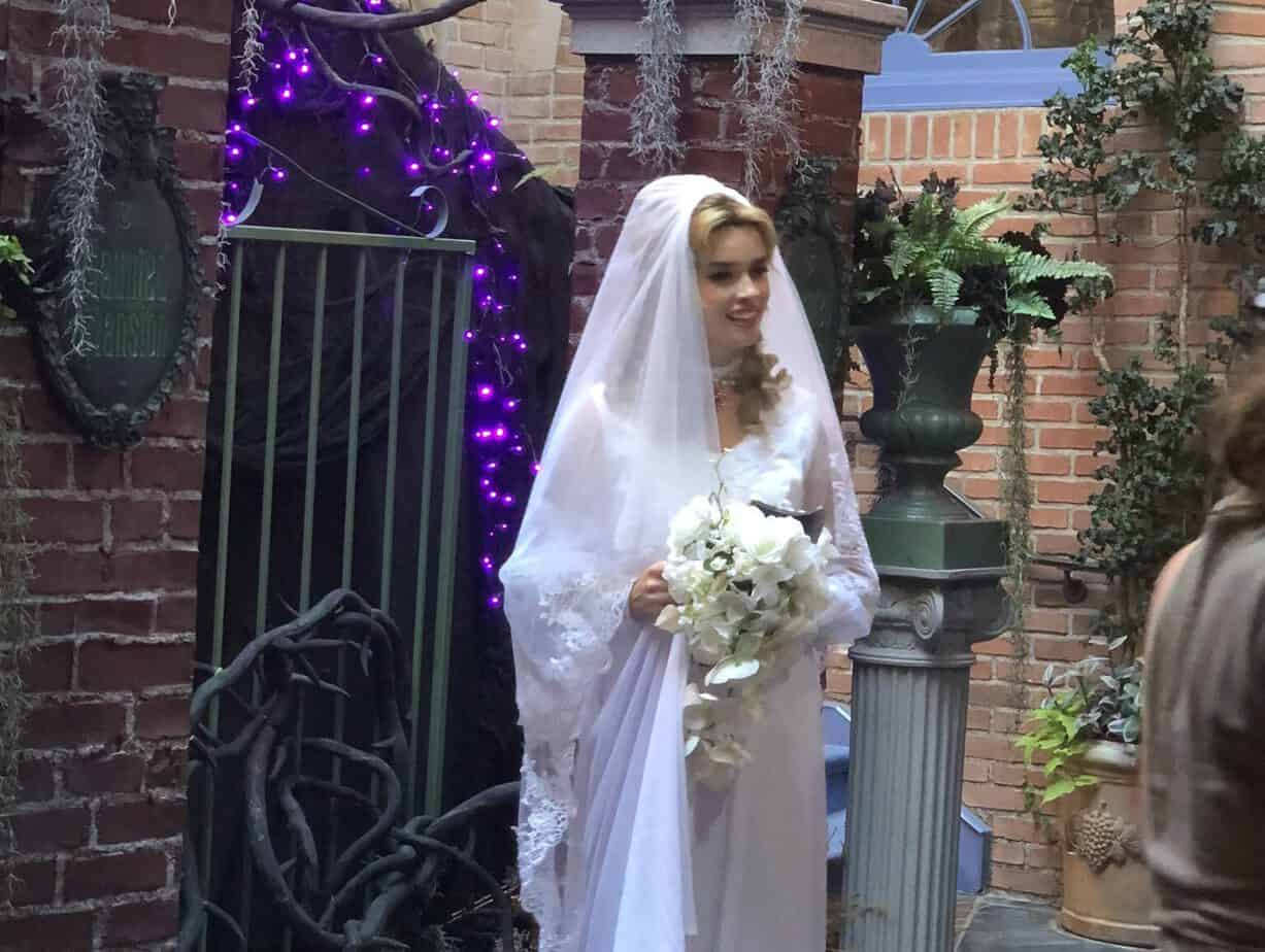 Haunted Mansion bride