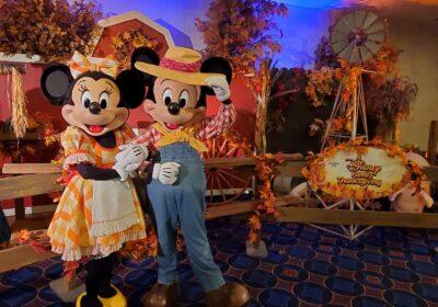 Thanksgiving at Disneyland