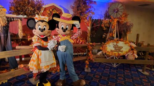 Mickey and Minnie Thanksgiving
