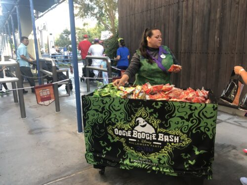 Oogie Boogie Bash trail