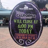 Oogie Boogie Bash Sold Out!