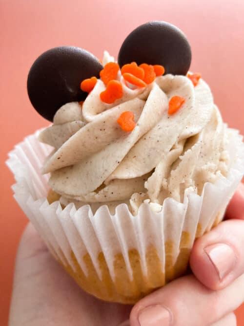 Pumpkin Spice cupcake Disneyland