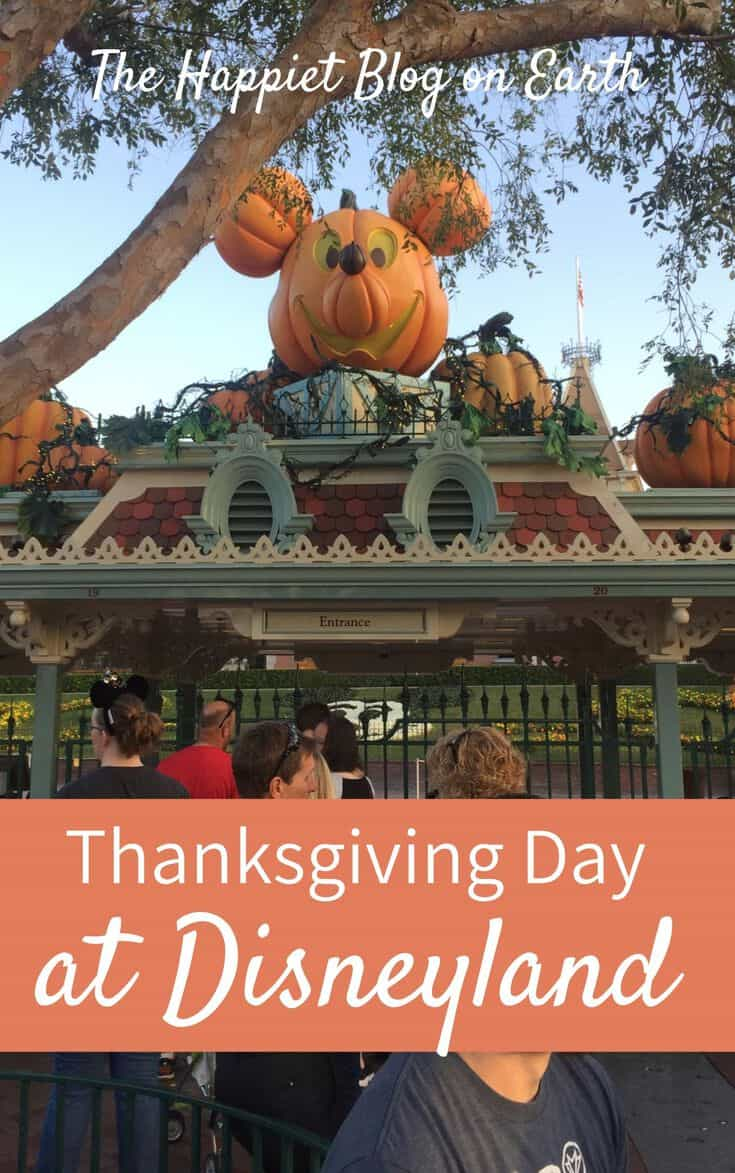 Thanksgiving Day at Disneyland