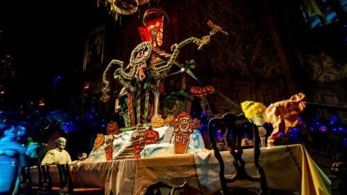 haunted mansion holiday at disneyland park gingerbread house