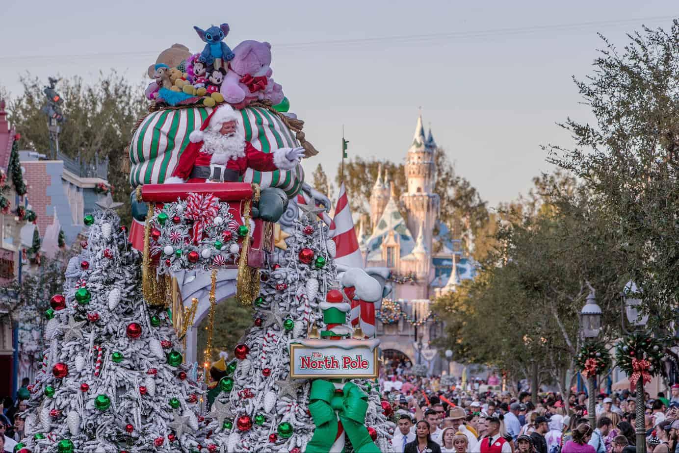 Santa in Christmas Fantasy parade