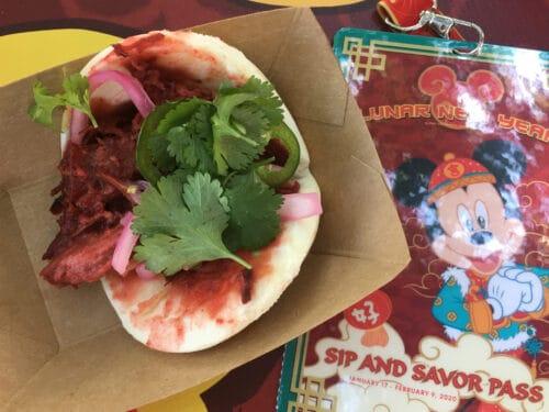 Char shiu pork bao