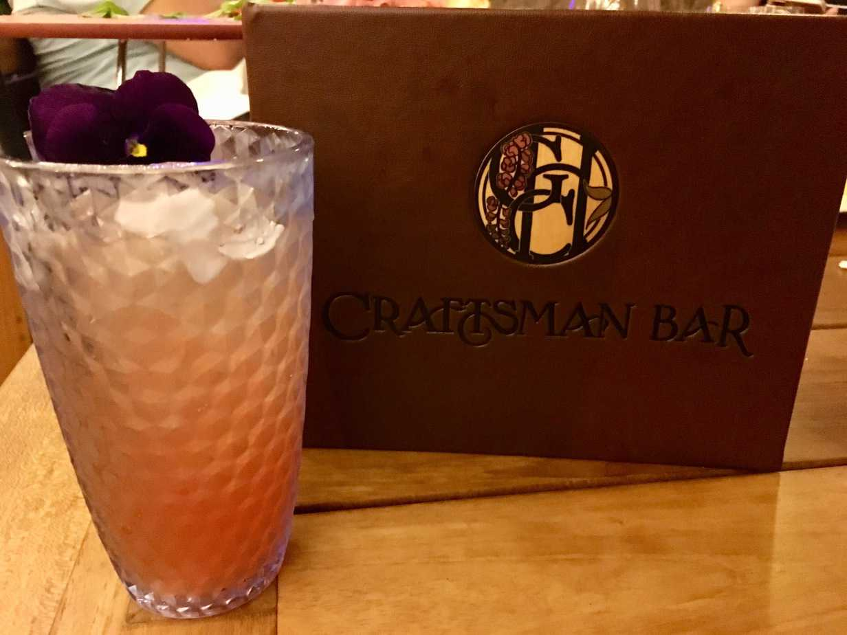 Craftsman Bar grape spritzer