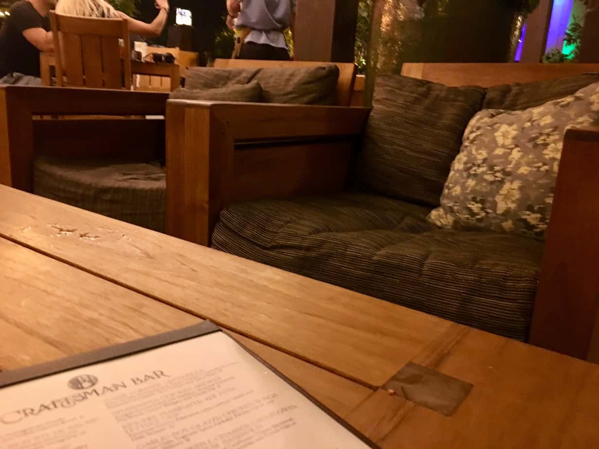 Craftsman Bar seating