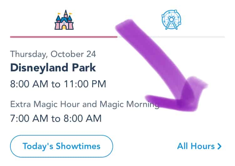 Disneyland closures more hours