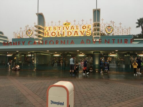 DCA Festival of Holidays gates