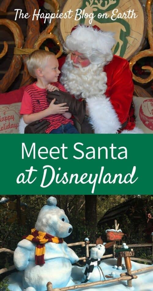 Meet Santa Claus at Disneyland