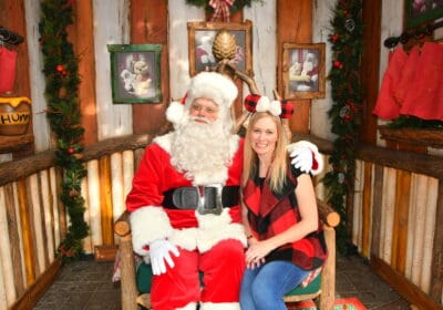 Meet Santa Claus at Disneyland Resort