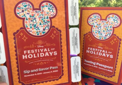Disneyland Festival of Holidays 2019