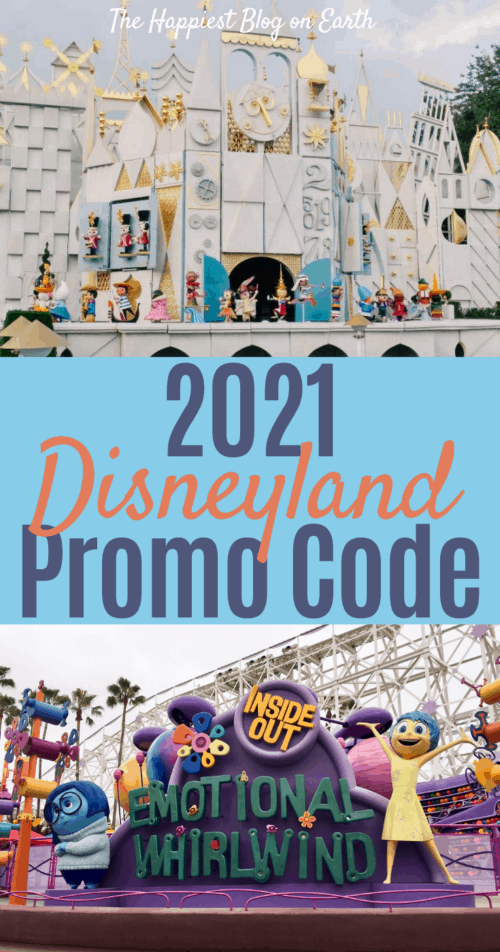 Disneyland Promo Code