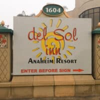 Del Sol Inn on Harbor Blvd.